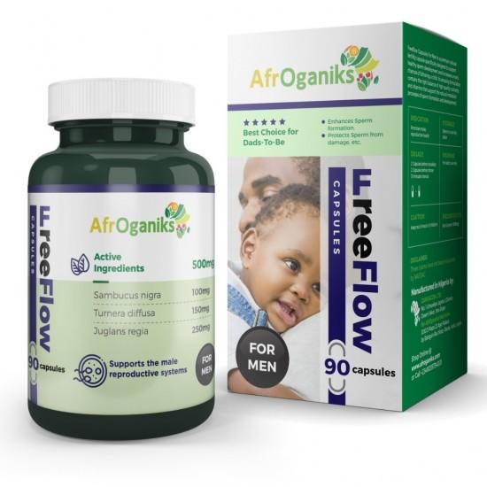 Free Flow Herbal Capsule For Men