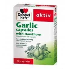 Doppelherz Garlic with Hawthorn Capsules x 90