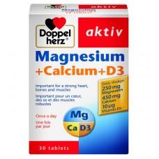 Doppelherz Magnesium+Calcium+D3 Tablets