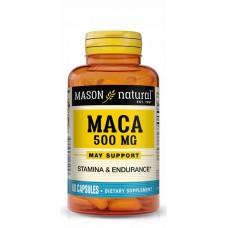 Mason Natural Maca 500mg For Improved Sexual Stamina