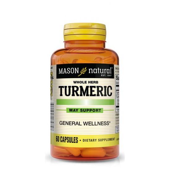 Mason Natural Turmeric, 60 Capsules