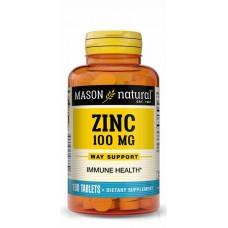 Mason Natural Zinc Supplement, 100mg  X 100 Tablets