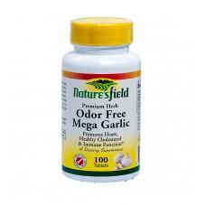 Naturesfield Mega Garlic (Odor free) - 100 Tablets