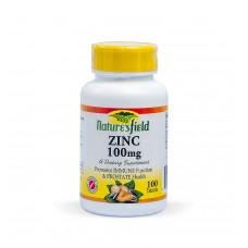 Nature's Field Zinc 100mg 100 Tablets
